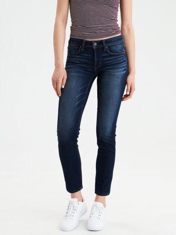 ג'ינס סקיני בשטיפה כהה Skinny