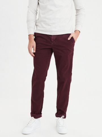 מכנסיים ארוכים בגזרת סלים Slim