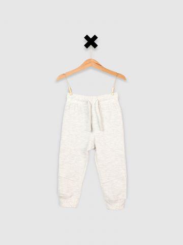 מכנסי טרנינג עם כיס אחורי / בייבי בנים