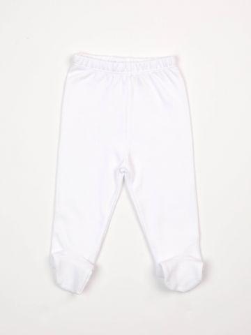מכנסיים בייסיק עם רגליות / בייבי בנות