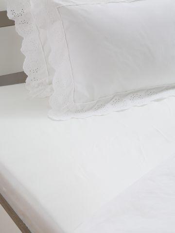 סדין חלק למיטה זוגית / 160X200