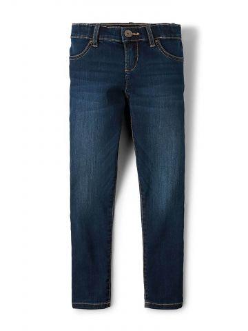 ג'ינס סקיני בשטיפה כהה/ בנות