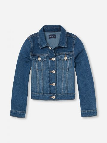 ג'קט ג'ינס עם כיסים / בנות