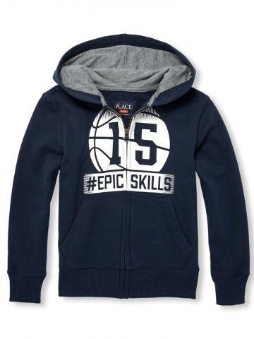 סווטשירט Epic Skills כדורסל / בנים
