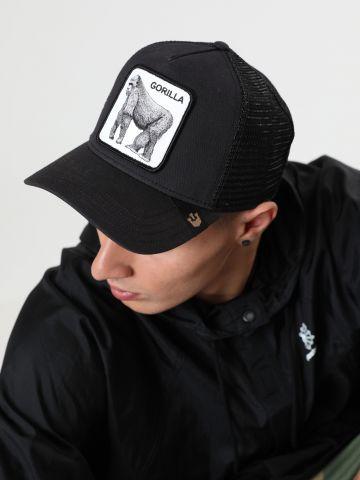 כובע מצחייה עם פאץ' גורילה