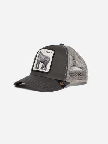 כובע מצחיה עם פאץ' גורילה