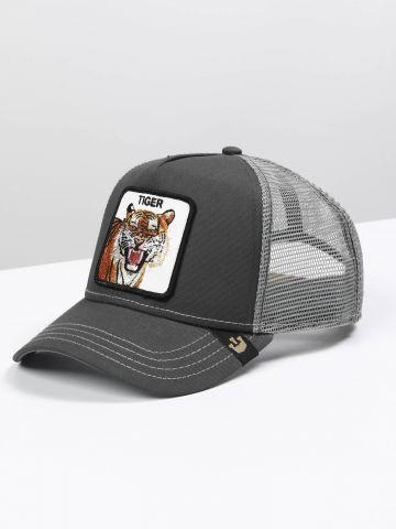 כובע מצחייה עם פאץ' נמר של GOORIN BROS