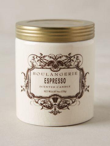 נר ריחני בצנצנת קטנה Espresso
