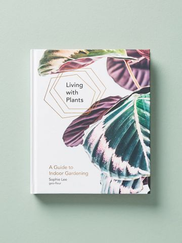 ספר הדרכה צמחיית פנים Living With Plants