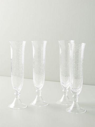 סט 4 גביעי זכוכית Carra