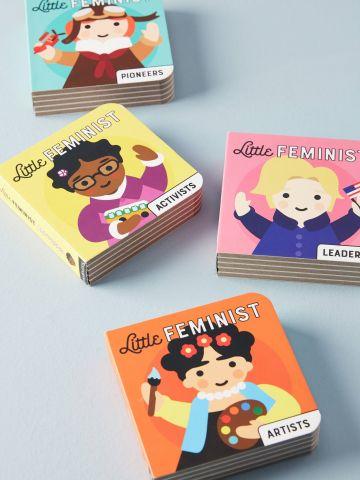 מארז 4 ספרים מאוירים מסדרת Little Feminist