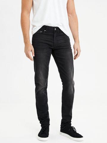 ג'ינס סקיני סלים בשטיפה כהה Slim Taper