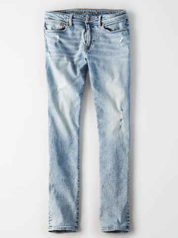ג'ינס סלים אסיד ווש Slim / גברים