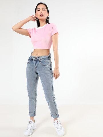 ג'ינס בויפרינד אסימטרי