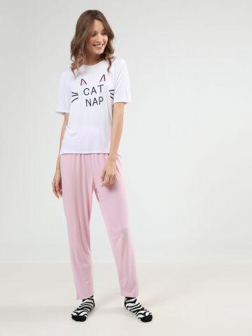 סט פיג'מה Cat Nap
