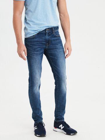 ג'ינס סקיני עם הלבנה Skinny