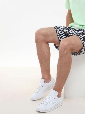 סניקרס עור לוגו Stan Smith / גברים