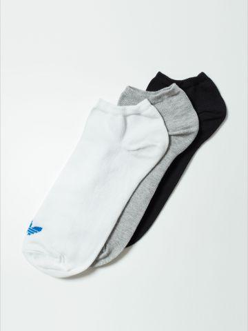 מארז 3 זוגות גרביים עם לוגו