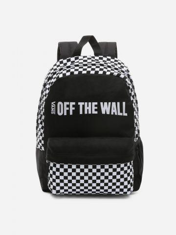תיק גב משבצות Off The Wall