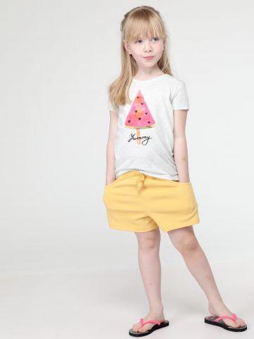 מכנסיים קצרים עם פפיון