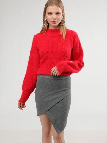 חצאית מיני מעטפת