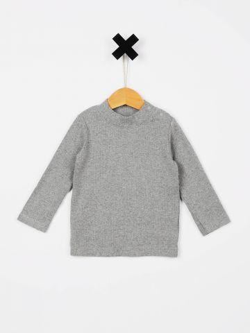 חולצת ריב עם שרוולים ארוכים / בייבי