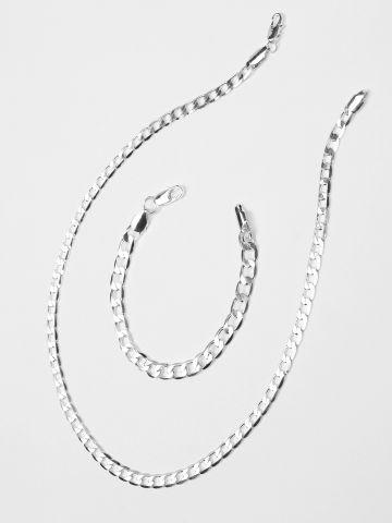 סט צמיד ושרשרת גורמט / נשים