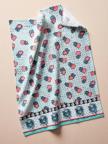 מגבת מטבח בהדפס תותים SUNO