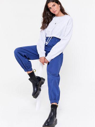 מכנסיים גבוהים עם גומי UO