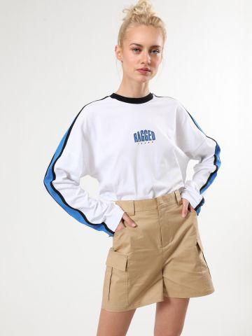 מכנסי דגמ״ח קצרים בגזרה גבוהה