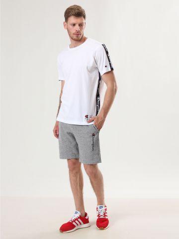 מכנסי טרנינג ברמודה לוגו