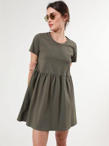 שמלת פפלום מיני