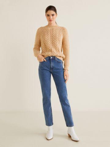 ג'ינס בגזרה ישרה של MANGO