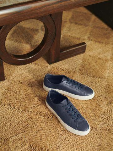נעלי סניקרס עור/ גברים