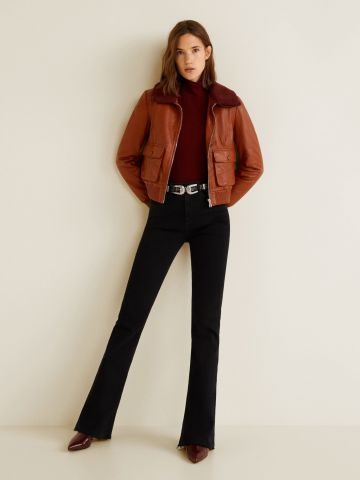 ג'ינס מתרחב עם סיומת פרומה