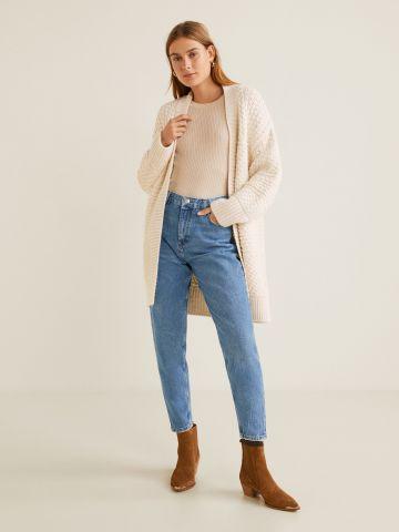 ג'ינס בגזרה גבוהה