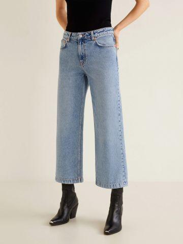 ג'ינס קרופ מתרחב בגזרה גבוהה