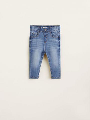 ג'ינס סלים עם הבהרות / בייבי בנים