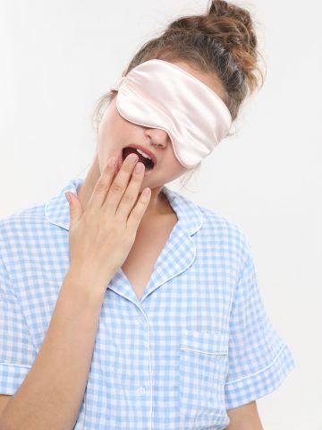 כיסוי עיינים סאטן של TERMINAL X