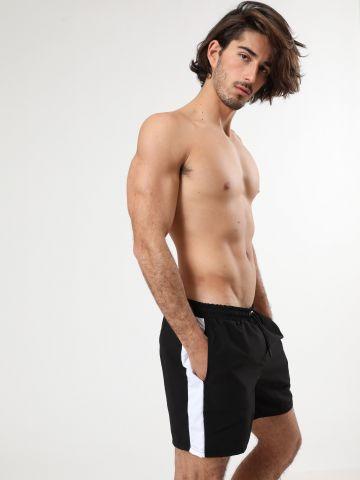 מכנסי בגד ים עם פאנלים