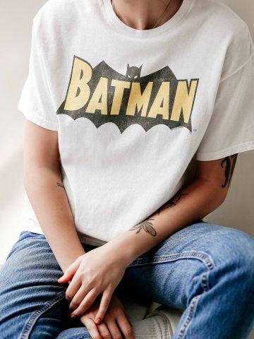 טי שירט עם הדפס Batman Junk Food