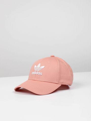 כובע מצחייה עם רקמת לוגו / נשים