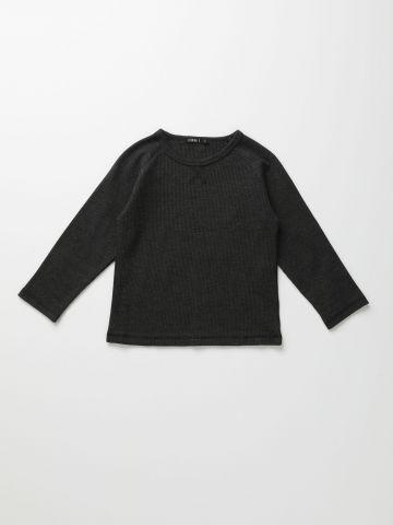 חולצת פיקה שרוולים ארוכים / 6M-6Y