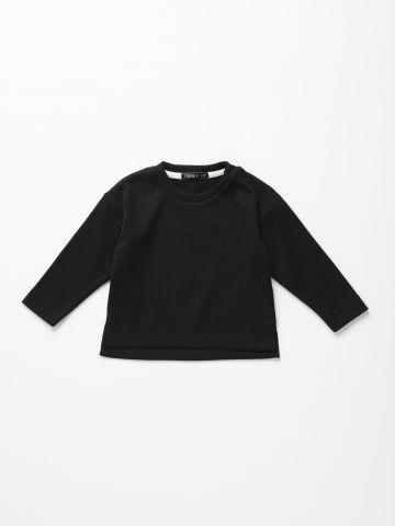 חולצת ריב שרוולים ארוכים / 6M-6Y