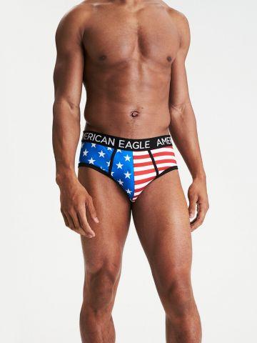 תחתוני בריף דגל ארה״ב / גברים