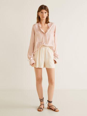 מכנסי במבוק קצרים
