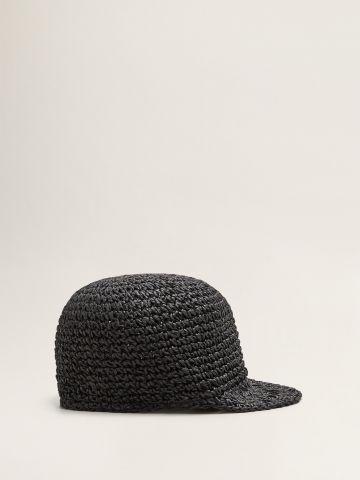 כובע מצחייה קלוע / נשים