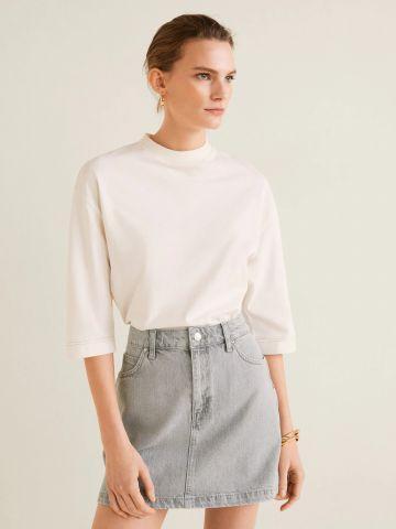 חצאית מיני ג'ינס