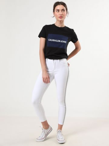 ג'ינס סקיני עם סטריפים לורקס