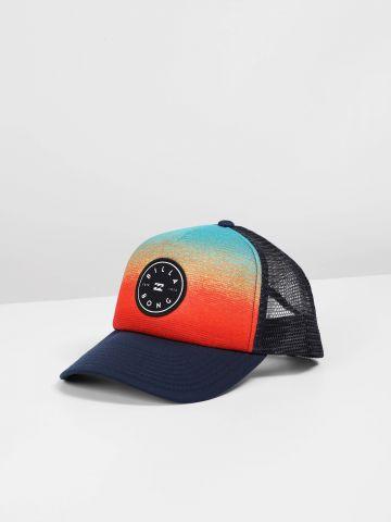 כובע מצחייה מולטי קולור עם פאץ' לוגו / בנים